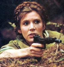 Una figura mítica : la Princesa Leia